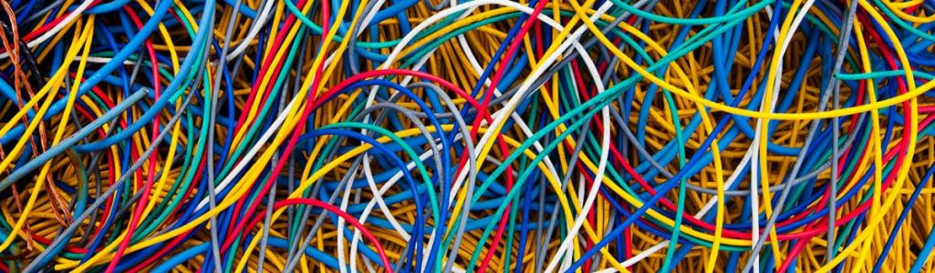 colorful data cabling website header